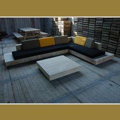 Loungeset 'cuba' in accoya hout 4