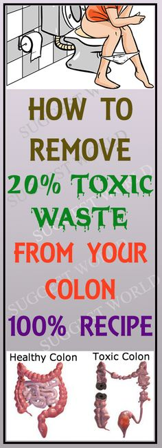 CLEANSE YOUR COLON AND LOSE 20 POUNDS IN 3 WEEKS #weightloss #colon #cleansing #health #recipe