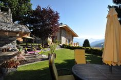 BnB Arc-en-Ciel in Haute-Nendaz, Switzerland Gondola Lift, Switzerland Hotels, Double Room, Hotel Reservations, Bed And Breakfast, Countryside, Dolores Park, Flower Power, Outdoor Decor
