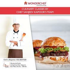 You know What's so tempting about Fast Food? Chef  Sanjeev Kapoor's expert team does. Revealing Soon! Now! For more details please call 022-26057248