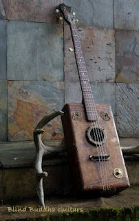 .Salvaged parts, old metal, new guitar ~