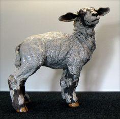 spring lamb raku ceramic | Flickr - Photo Sharing! Leslie D Mckenzie