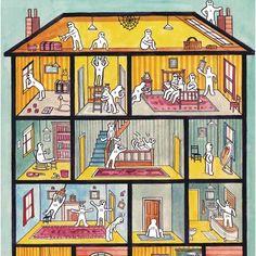 """Mit dem """"Haus der Persönlichkeiten"""" finden Psychologen unbewusste Stimmungen und Gefühle heraus!"""