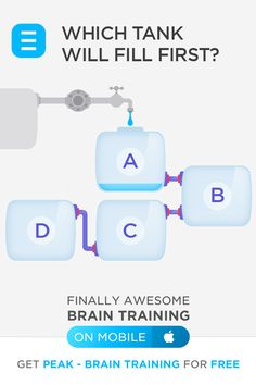 Download our free app and take a 10 minute test to start challenging your brain!
