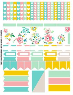 Free-Planner-Addict-Floral-fun-Collection-FPTFY-2.png 2,550×3,300 pixels