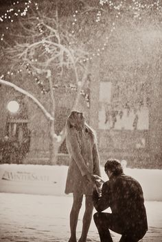please, future husband, hire a secret photographer. please also propose in the snow.