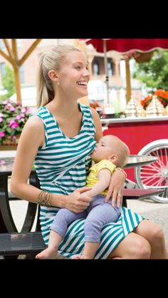 Breastfeeding dress