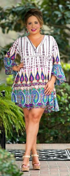 Stitch Fix: This dress is perfection! I just don't know that I could wear those shoes with it.