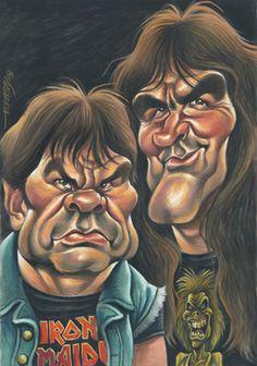 Bruce Dickinson & Steve Harris