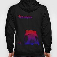 Cities Of America: Philadelphia Hoody by Brandon sawyer - $42.00