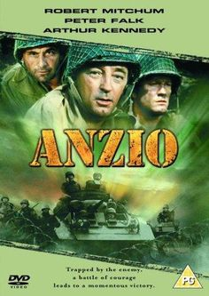 Anzio A war correspondent paints a vivid portrait of one of the bloodiest and most heroic World War II battles ever fought. Stars Robert Mitchum and Peter Falk. Peter Falk, Movie Theater, Movie Tv, War Film, Film Archive, Classic Movies, Classic Tv, Old Movies, Movies To Watch