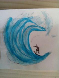 #watercolor #water