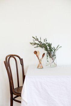 thonet eucalyptus props still life