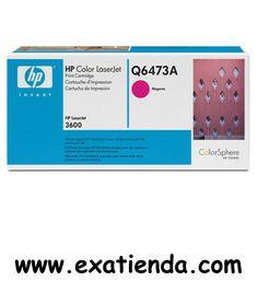 Ya disponible T?ner HP q6473a magenta                    (por sólo 142.75 € IVA incluído):   - Compatibilidades: - Impresoras Color LaserJet de HP: - # 3600. - # 3800. - # 3600N. - # 3800N. - Rendimiento de Impresión:4000. pg - Color: Magenta Garantía de fabricante  http://www.exabyteinformatica.com/tienda/3222-toner-hp-q6473a-magenta #hp #exabyteinformatica