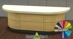 Around the Sims 4   Free Custom Content for the Sims 4   Object Download   Harbinger Kitchen recolors