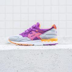 Asics Gel-Lyte V - Soft Grey/Hyacinth/Violet - Sneaker Politics