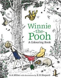 Features-illustrations-of-Winnie-the-Pooh-Christopher-Robin-Piglet-and-Eeyore-Thisbook-is-suitable-for-all-Winnie-the-Pooh-fans-looking-for-a-mindful-relaxing-escape-back-to-their-childhoods