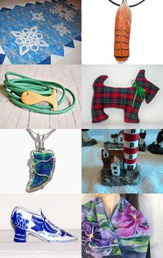 Christmas Shopping by Christine S on Etsy--Pinned with TreasuryPin.com