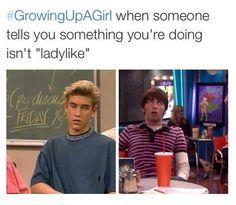 #GrowingUpAGirl