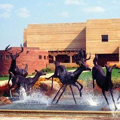 The Eiteljorg Museum of American Indians and Western Art in Indianapolis' White River State Park