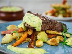 Er du glad i… Frisk, Pot Roast, Steak, Recipies, Food And Drink, Ethnic Recipes, Sauces, Foods, Table