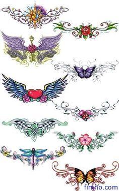 Vines, hearts & butterflies
