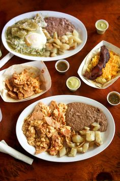 The ultimate guide to the best breakfast and brunch in Austin! Featuring 20 different restaurants that serve up the absolute best early bites in town. Raw Food Recipes, Cooking Recipes, Freezer Recipes, Freezer Cooking, Drink Recipes, Cooking Tips, Breakfast Dishes, Eat Breakfast, Mexican Breakfast
