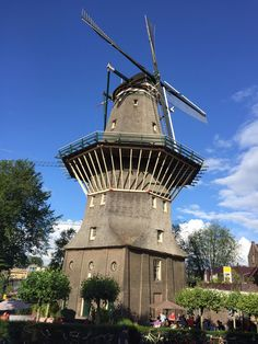 The only standing windmill in the City of Amsterdam.