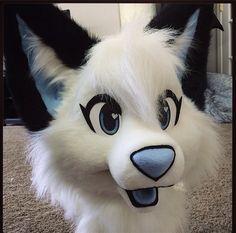 Cute fursuit head