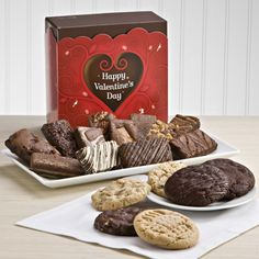 Sweethearts young and old are sure to fall in love with our Sweethearts Cookie & Brownie Giftbox.