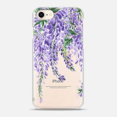 Casetify iPhone 8 Case - Wisteria by Dorina Nemeskéri Selling Design, Iphone 8 Cases, Wisteria, Tech Accessories, Casetify, Paper, Amazing, Wall