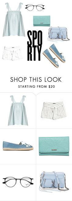 """""""Untitled #633"""" by capelloo ❤ liked on Polyvore featuring Loup Charmant, Vince, MICHAEL Michael Kors, Roxy, Ray-Ban and Rebecca Minkoff"""
