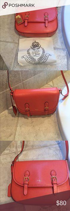 New Ralph Lauren orange crossbody RALPH LAUREN brand new crossbody Ralph Lauren RRL Bags Crossbody Bags