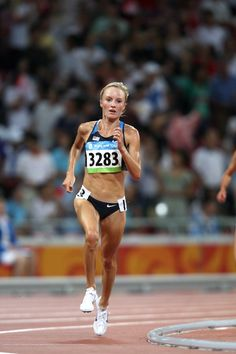 Shalane Flanagan winning the 10k at the USA Championships