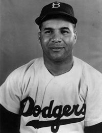 The Brooklyn Dodger's own Roy Campanella wins the MVP award for the second time. Because he was an African American he had to play in a league for African Americans.