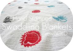DIY for those Aden & Anais swaddling blankets. ~ http://stayingsteyn.blogspot.com/2012/04/aden-and-anais-swaddlers-tutorial.html