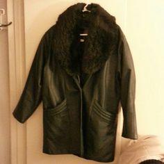 Leather coat Leather coat Jackets & Coats