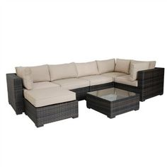 London 7 Pc. Sectional · Ottoman TablePatio ...