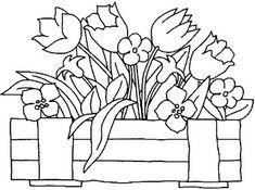 Pintura em Tecido Passo a Passo Com Fotos: Riscos Para Pintura em Tecido Cestas de Flores