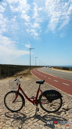 Discover how to go on a self guided free bicycle tour from Cascais to Guincho. Lisbon Portugal, Fishing Villages, Bicycles, Touring, To Go, Europe, Beach, Free, Travel