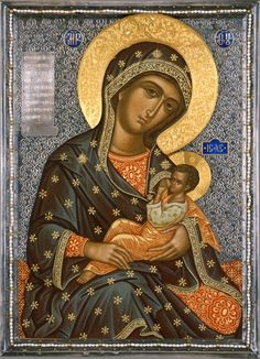 ΜΡ.ΘΥ__Παναγία ( Богоматерь Млекопитательница Religious Images, Religious Icons, Religious Art, Byzantine Icons, Byzantine Art, Greek Icons, Mother Images, Mama Mary, Russian Icons