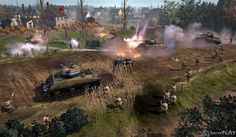 Company of Heroes 2 The Western Front Armies rolls out on June 24 - Would-be generals will soon have a less expensive route to joining the virtual World War 2 battlefields of Company of Heroes thanks to the June 24 release of The Western Front Company Of Heroes 2, World Of Warcraft Gold, Cinematic Trailer, Real Time Strategy, Military Art, American Civil War, Virtual World, The Expanse, League Of Legends
