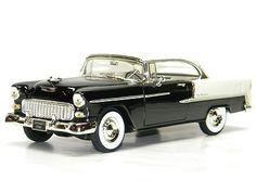 1955 CHEVROLET BEL AIR Ertl 1:18 Scale DieCast Model CAR 55 CHEVY CANNADAYS