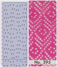 Laced punch cards Brother Knitting Machine Patterns, Knitting Paterns, Knitting Charts, Lace Knitting, Knitting Stitches, Knit Patterns, Stitch Patterns, Knit Crochet, Blue Nose Friends