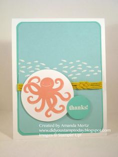 Under the Sea - FabFri42 by mandypandy - Cards and Paper Crafts at Splitcoaststampers