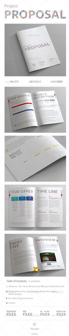 Professional Proposal Template Proposal templates, Proposals and - product sales proposal template