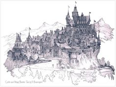 Castle and Village Number Two by Built4ever on deviantART