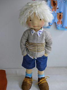 "Tristan 20"" boy by DearLittleDoll #dearlittledoll #handmadedolls #naturaldolls…"