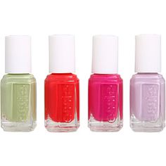 Essie Spring 2012. I just got my nails done and chose To Buy Or Not To Buy (the lilac shade). So pretty!
