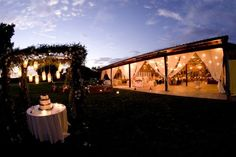 how romantic is this reception set-up?! (Soigne Productions)